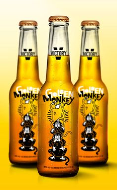 Golden Monkey by A.J. Poholski
