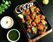 Tandoori Gobi Tikka/Baked Cauliflower Bites