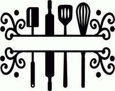Split kitchen utensils