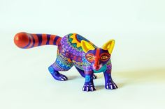 Mexican Folk Art Sculptures Created by Residents of Oaxaca