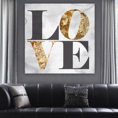 Build on Love Canvas Print