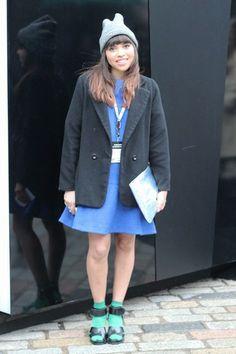 Street style de London Fashion Week