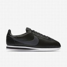 #nikesport #nikefootball   nike cortez black leather, Black/White/Dark Grey Classic Cortez Leather Unisex Shoe http://nikesportscheap4sale.com/175-nike-cortez-black-leather-Nike-Mens-Black-White-Dark-Grey-Classic-Cortez-Leather-Unisex-Shoe.html