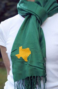 Baylor/Texas Scarf