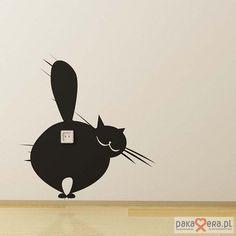 dodatki - plakaty, ilustracje, obrazy - inne-Naklejki na ścianę _3 koty