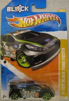 Hot Wheels 2011 '11 Ken Block Ford Fiesta #40 BLACK New Models by Mattel. $11.99. 2011-40. Ken Block Ford Fiesta Rally Car. New Models. Hot Wheels 2011-40 Ken Block Ford Fiesta Black rally car