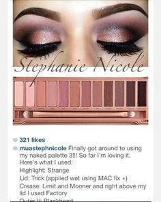 Naked 3 palette eyeshadow