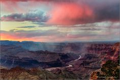 Rain Squalls, Desert View, Grand Canyon NP by Don Smith on 500px