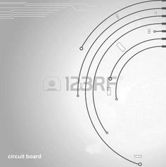 circuit board background  photo
