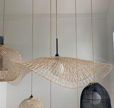 Suspension Diy Luminaire, Deco Luminaire, Luminaire Vertigo, Starter Home, Contemporary Lamps, New Room, Kitchen Interior, Pendant Lamp, Lamp Light