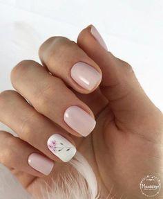 Cute Pink Nails, Pretty Nails, Hair And Nails, My Nails, Graduation Nails, Basic Nails, Minimalist Nails, Bridal Nails, Stylish Nails