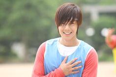 Kim Hyun Joong 김현중 ♡ as Baek Seung Jo ♡ Playful Kiss ep 3 ♡ Kdrama ♡ Kpop ♡ that smile :) Kim Joon Hyun, Kim Kyu Jong, Kim Hyung, Park Jung Min, Jung So Min, Playful Kiss, Korean Men, Korean Actors, Korean Dramas