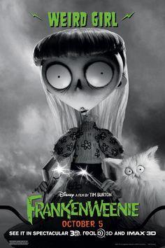 Weird Girl from Frankenweenie