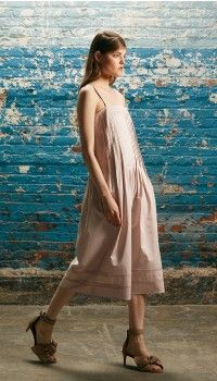 8bfb840ba2392 Satin Poplin Pintuck Jumpsuit Tibi Dresses