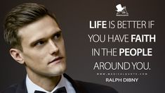 Ralph Dibny: Life is better if you have faith in the people around you. Evil Quotes, Hero Quotes, True Quotes, Bible Quotes, Qoutes, Funny Quotes, Amazing Inspirational Quotes, Great Quotes, The Flash Quotes