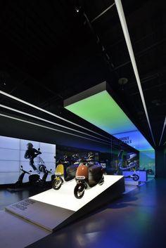 gogoro flagship @ Taipei  lighting design by Concept Lighting Design Consultants Inc.