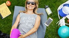 We've got you covered for the barre3 Anywhere Challenge with our new Core Ball, trucker hat, tank top and mason jar.