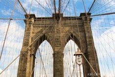 Qué hacer gratis en Nueva York: Cruzar el puente de Brooklyn New York City Vacation, New York Travel, One World Trade Center, Brooklyn New York, Brooklyn Bridge, East River, Empire State Building, Hudson Yards, Spiderman Art