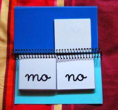 Libro móvil de sílabas