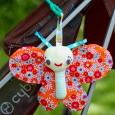 DIY Butterfly Stroller Toy