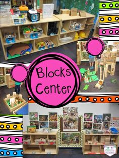The block center in my preschool classroom during a study about insects and the… Block Center Preschool, Preschool Set Up, Preschool Classroom Setup, Preschool Rooms, Preschool Centers, Preschool Lessons, Classroom Design, Classroom Ideas, Preschool Quotes