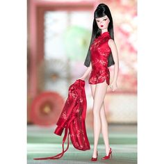 Looking for the Chinoiserie Red Moon Barbie Doll? Immerse yourself in Barbie history by visiting the official Barbie Signature Gallery today! Original Barbie Doll, Barbie Website, Red Pajamas, Poppy Parker, Red Moon, Long Black Hair, Barbie Collector, Lingerie Models, Alphabet