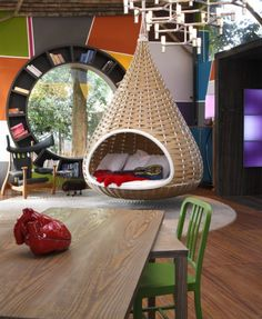 This would make the coolest (big) kids room ever.
