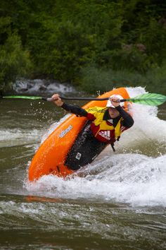 Emily Jackson Pro Kayaker Love The Pink Boat Isis