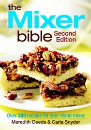 recipes from this cookbook:  Cinnamon rolls, monkey bread, corn fritters with sausage, ham & cheddar souffle, popovers, buttermilk biscuits, garlic mashed potatoes and tomatillo chicken tamales