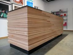 Gareth Neal commission -  a reception desk - beautiful