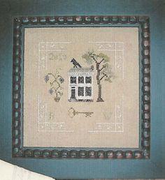 Nanu's Hankie - Cross Stitch Pattern