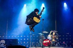 Green Day en el Bilbao BBK Live 2013