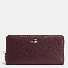Shop The COACH Accordion Zip Wallet In Pebble Leather. Enjoy Complimentary Shipping & Returns! Find Designer Bags, Wallets, Shoes & More At COACH.com!