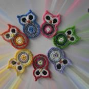Owl Creations Applique - Magnet - Decor - via @Craftsy