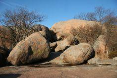 Elephant Rocks State Park in Ironton, Missouri