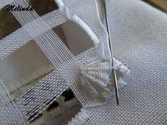 socorro matesanz's media content and analytics. Types Of Embroidery, Learn Embroidery, Hand Embroidery Stitches, Embroidery For Beginners, White Embroidery, Embroidery Techniques, Beaded Embroidery, Cross Stitch Embroidery, Embroidery Patterns