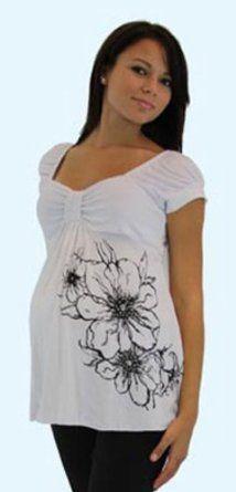 Maternity Top - Short Sleeve - Mommy Paradise