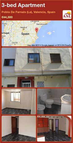 3-bed Apartment in Pobla De Farnals (La), Valencia, Spain ►€44,300 #PropertyForSaleInSpain