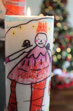 Velas decoradas por los niños paso a paso   Blog de BabyCenter