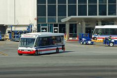 American Eagle airport transfer bus