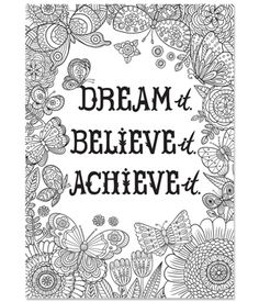 Believe Dream Inspire Essay Ideas For Kids - image 8