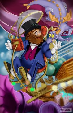 dreamfinder and figment | Figment Of Your Imagination !