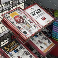 Tractor Supply Discount Flyer Literature Rack
