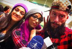Enzo Amore, Sasha Banks, Bayley