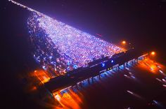 Happy New Year? Nightmarish gridlock on Beijing motorway as holiday ends  It always takes patience to hit the road on national holidays, especially when millions of your fellow citizens have the same idea. This was the hard lesson learned by tens of thousands of motorists stuck on a multi-lane motorway near a tollgate leading to Beijing on Monday  Incredible pictures captured by drones showed the gridlock on the Beijing-Hong Kong-Macau Expressway, as holidaymakers returned home from some…