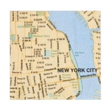 Mapkins, New York $8.95 - These cool napkins will be the 'talk of the town' at your next dinner party.