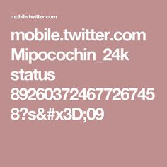 mobile.twitter.com Mipocochin_24k status 892603724677267458?s=09