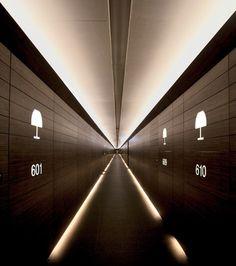 Rooms are doorknob-free at Dubai's Armani Hotel.