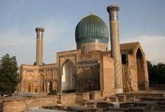 Samarqand, Gur-i-Mir, ca. 1404, Uzbekistan.