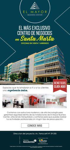 #NOVOCLICK esta con #ConinsaRamonH #El mayor business center #SantaMarta